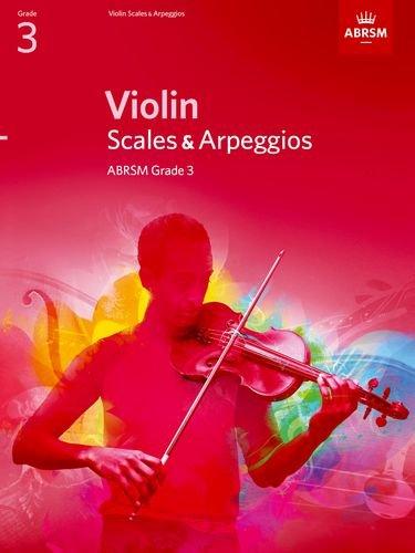 Violin Scales & Arpeggios Grade 3