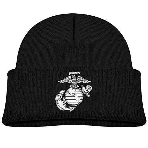 - Eagle Globe Anchor USMC Marine Corps Unisex Baby Beanie Hat Toddler Infant Newborn Soft Knit Cap