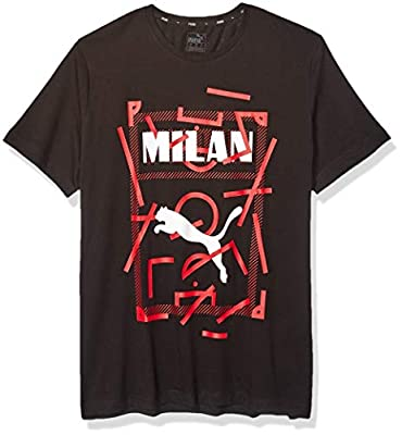 PUMA Men's Ac Milan DNA Tee