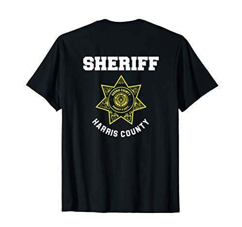 Harris County Texas Sheriff Deputies Police Uniform T-Shirt]()