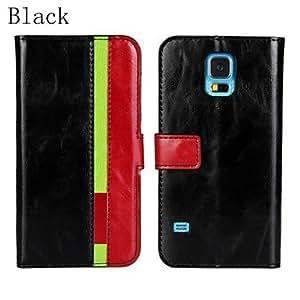GONGXI-PU funda de piel de cuerpo completo con ranura para tarjeta y la correa para el Samsung Galaxy S5 i9600 (colores surtidos)
