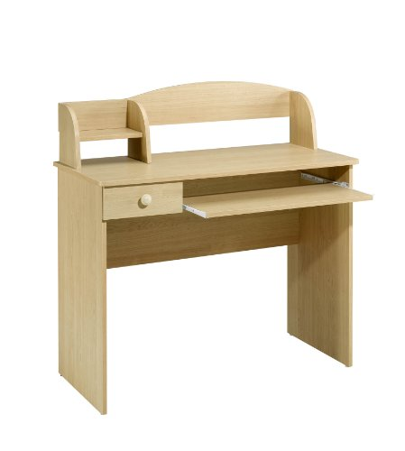 Alegria 5642 Student Desk from Nexera, Natural Maple Solid Maple Futon