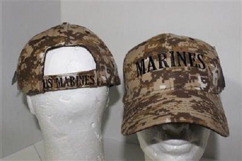USMC海兵隊Marpat ACUデジタルイエローEGAボールキャップ帽子( Licensed )   B013F48IMY