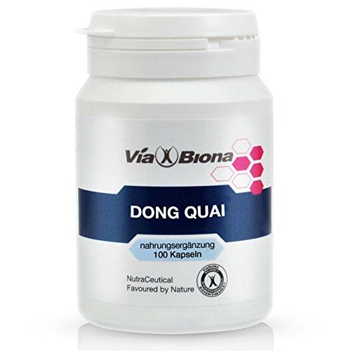 Dong Quai Engelswurz, hochdosiert, synergistisch aktives Frauen-Ginseng, 100 HighResorp-Kapseln, 98,67 % Bioverfügbarkeit