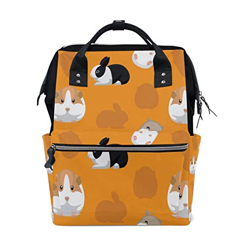 Cartoon Cute Guinea Pig Large Capacity Diaper Bags for sale  Delivered anywhere in Canada