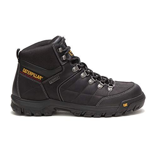 Caterpillar Men's Threshold Waterproof Industrial Boot, Black, 11 M US