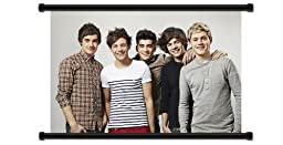 One Direction Band Wall Scroll Poster (32x21) Inches