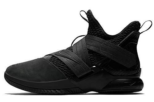 dd58b080d01d3 Nike Lebron Soldier XII SFG Mens Basketball-Shoes AO4054-003 8.5 - Black