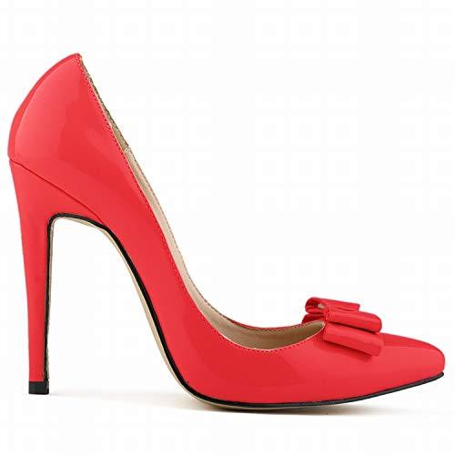 Dulce F Moda Profundos Y De Poco Damas Otoño Flyrcx Colorido Primavera Solos Zapatos Tacones Aguja 1q46W0WBwf