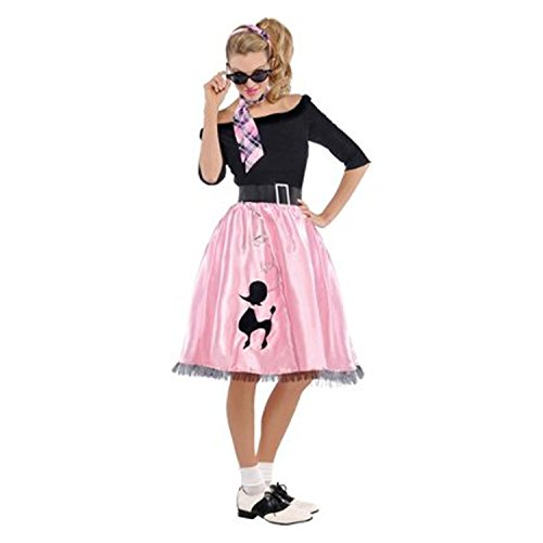 Womens Sock Hop Sweetie Costume Size X Large (Sock Hop Sweetie Costumes)