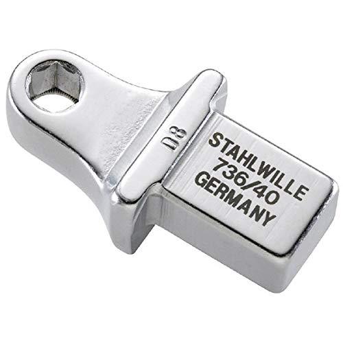 STAHLWILLE(スタビレー) 736/40 トルクレンチ差替ヘッド(5/16