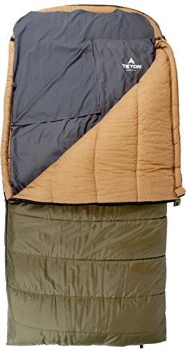 TETON Sports XL Cotton Sleeping Bag Liner for Travel and Camping Sheet