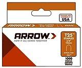 Arrow Fastener 256 Staple, 3/8-In., 1000-Pk. - Quantity 5