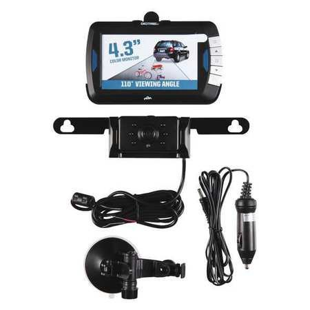 Back Up Camera, CMOS, Monitor 4.3