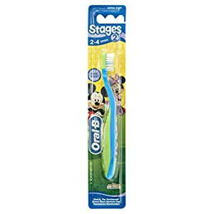 Oral-B Stages 2 Mickey 2-4 Years Toothbrush Extra Soft