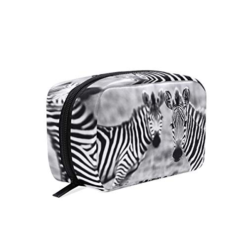 Makeup Bag Zebra Girls Travel Cosmetic Bag Womens Toiletry Organizer