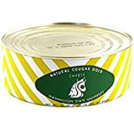 WSU Creamery Wazzu Cougar Gold Sharp White Cheddar Cheese (30oz Can) (1-Can Pack)