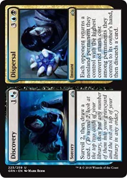 the Gathering MTG Guilds of Ravnica Thought Erasure 206//259 Magic