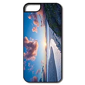Funny Sayings River Meets Sea Friendly Packaging Hard Plastic Iphone 5 Case