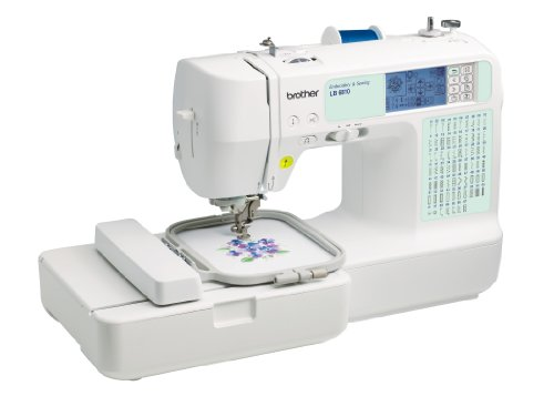 Brother LB6810 sewing/embroidery machine, 70 built-in embroidery designs