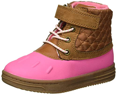carter's Girls' Bay2-G Duck Fashion Boot, Pink, 7 M US ()