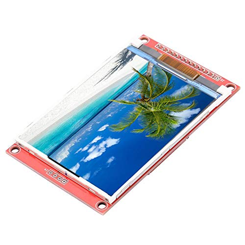 - LCD Display Module, 3.2 inch 240320 TFT LCD Display Module 4-Wire SPI TFT LCD Touch Screen with SD Card Cage,TFT Display Module (Without Touch)