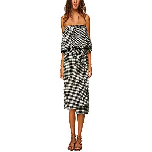 O'Neill Women's Mahalia Dresses,Medium,Black - Oneill Cotton Skirt