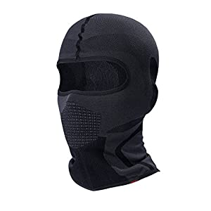 Balaclava - Windproof & Dust Protection Motorcycle Helmet Liner Soft and Breathable Face Mask Warmer Balaclava Hood by Guangzhou Walk Network Technology CO,.LTD