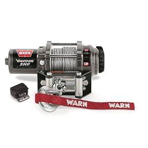 Warn 89020 Vantage 2000 Winch - 2000 lb. Capacity