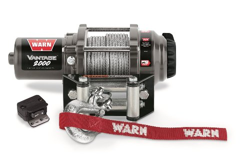 Warn 89020 Vantage 2000 Winch - 2000 lb. Capacity (Ac Winch)