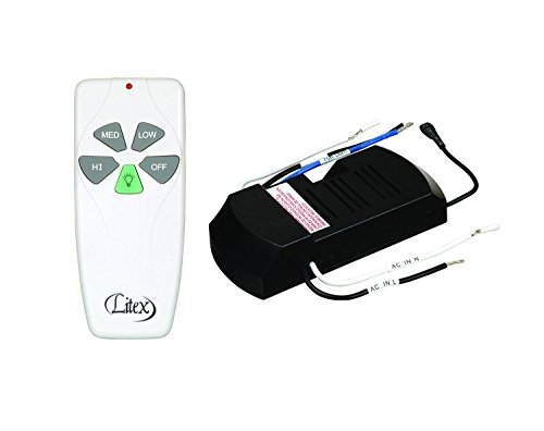 - Litex RCI-103 Universal Remote Control with Three Speeds and Full Range Dimmer