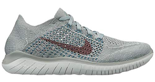 Shoes Authentic Wholesale - Nike Womens Free Rn Flyknit 2018 Womens 942839-300 Size 7.5