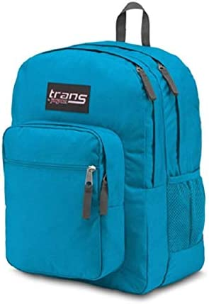 """Trans by JanSport 17\"""" SuperMax Backpack - Moroccan Deep"""
