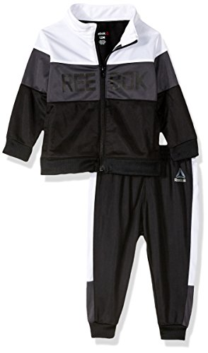 Reebok Baby Boys 2 Piece Athletic Set, 2034-Black, 18M