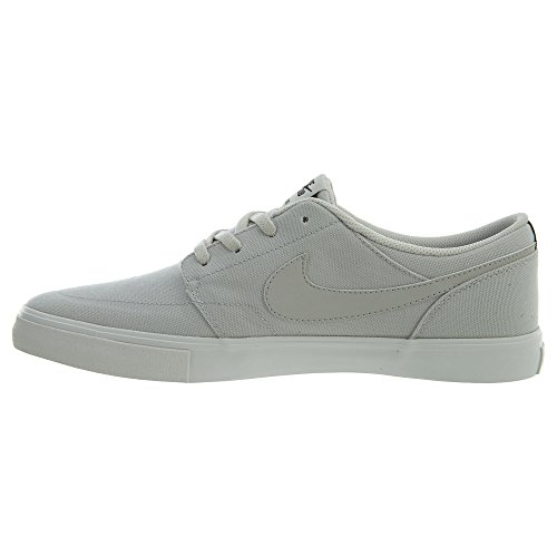 NIKE Mens SB Portmore II Solar Cnvs, Light Bone/Light Bone-Black-Summit, 8.5 M US