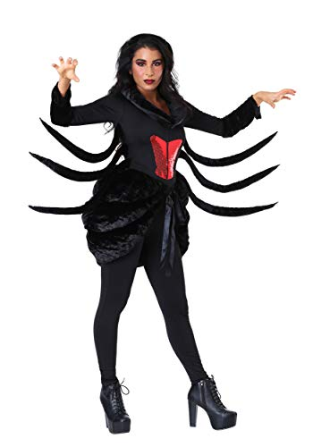 Black Widow Spider Costume (Women's Black Widow Spider Costume)