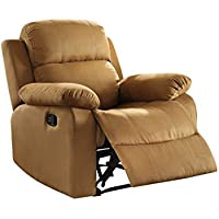 Acme Furniture 59468 Parklon Recliner, One Size, Chocolate