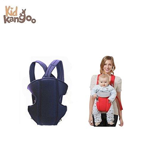 Ergonomischer Babytragerucksack zum Transportieren deines Babys – Bequeme Babytrage aus hochwertigen Materialien – Verstellbarer Rucksack zum Anpassen an die Größe deines Babys (Schwarz und Rot)