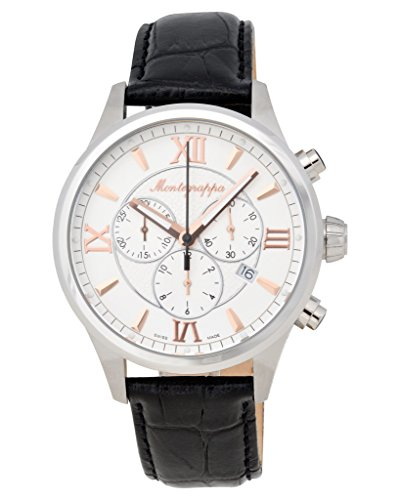 Montegrappa Fortuna Chronograph Men's Stainless Watch IDFOWCLR Swiss Made