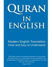 Quran in English: Clear and Easy to Understand. Modern English Translation.