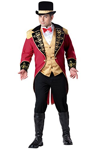 InCharacter Costumes Men's Plus Size Ringmaster Costume,