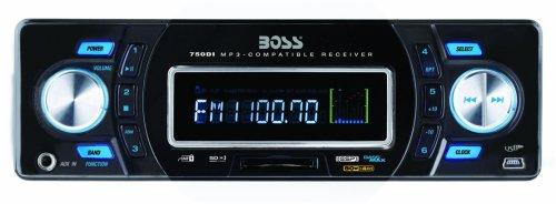 BOSS Audio Systems 750DI In-Dash Digital Media Receiver iPod Dock - Black