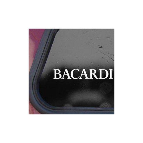 (BACARDI VINTAGE WHITE COLOR MACBOOK WALL VINYL CAR LAPTOP WINDOW HOME DECOR NOTEBOOK DECOR DECORATION WALL ART BIKE HELMET CAR DECAL)