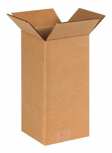 End Loading Mailers (Aviditi 6612 Tall Corrugated Box, 6