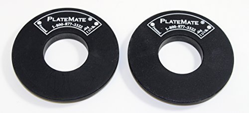 PlateMate Micro Loading 1.25 Pound Donut Weight Plate - 1 Pair by Plate Mate