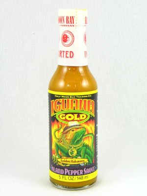 Iguana Gold Island Pepper Sauce - Pack of 3