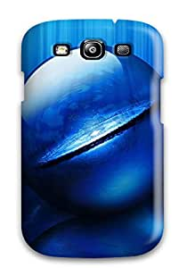 AnthonyJNixon Snap On Hard Case Cover Purple Ball Protector For Galaxy S3