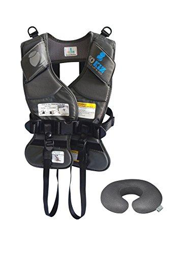 GOKIZ Car Seat Vest, Charcoal, Large