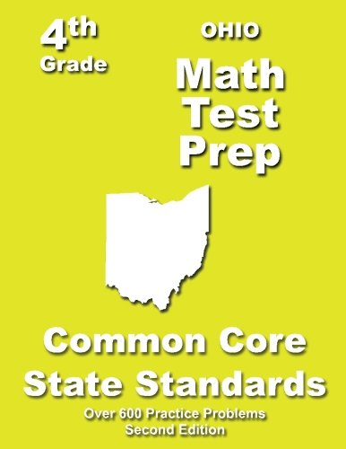 Ohio 4th Grade Math Test Prep: Common Core Learning Standards