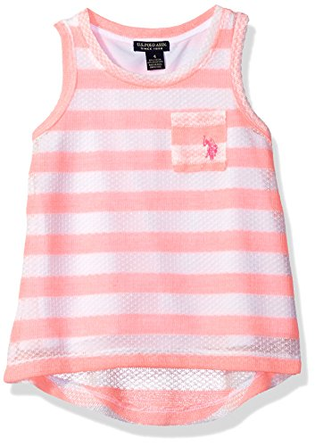Girls Sleeveless Polo Top - 3
